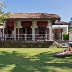 Saldana Beach Villa is private, peaceful and right next to local shops and eateries