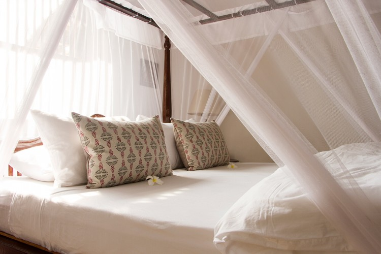 Pointe Sud Beach Villa offers top quality linen for maximal comfort