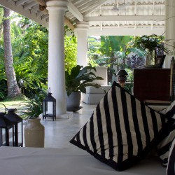 The call of the cushions: comfort and relaxation at The Well House Unawatuna