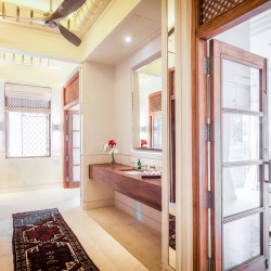 Ranawara Beach Villa has ensuites for all bedrooms for total comfort. There is ample storage space behind timber doored wardrobes