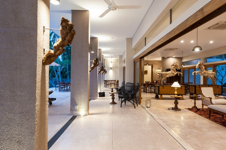 Art, design and interior style blend at Serendipity Lake View Villa