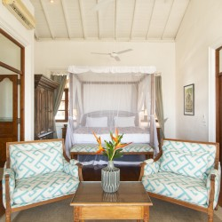 Skye Beach Villa bedrooms are large!