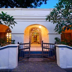 The entrance No 79 Leyn Baan Street Galle Fort