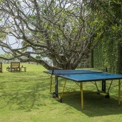 Suriyawatta Beach Villa offers lounges and table tennis on the lawn
