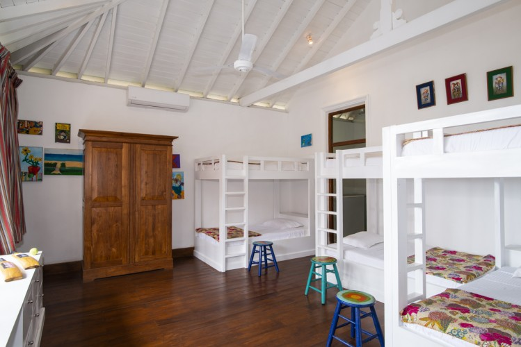 Skye Beach Villa the ideal location for children with 6 single beds