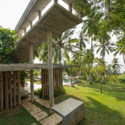 Walatta House in Tangalle viewing platform
