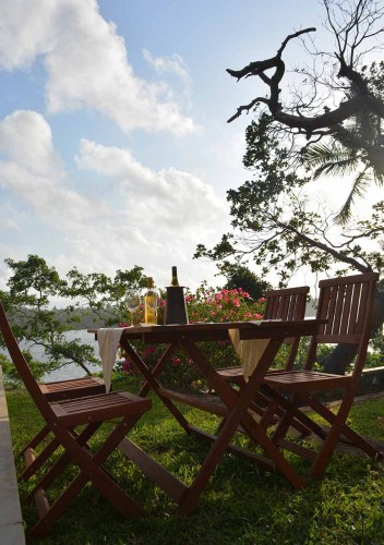 Crocodile Rock Villa Gardens are perfect for a lakeside picnic