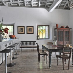 The breakfast bar is a great spot for breakfast at Crocodile Rock Villa