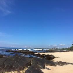The surf break just near Reef House Beach Villa