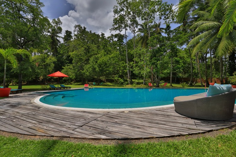 Villa Sepalika calls to you with poolside cocktails