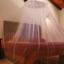 Kingsized bedroom of Lake View Villa Hikkaduwa