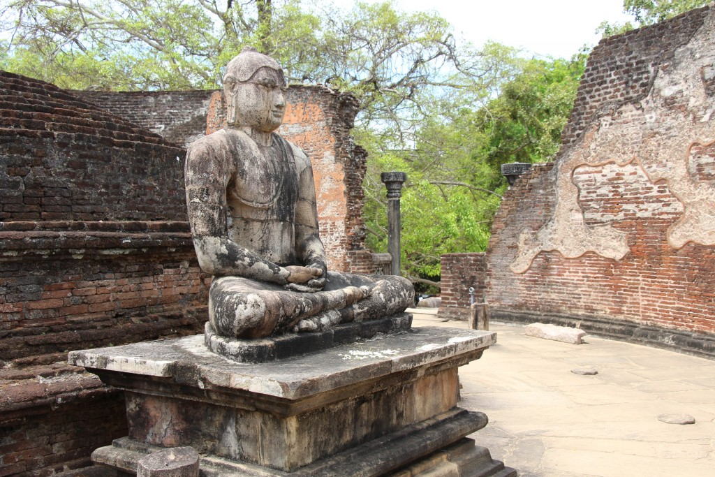 Buddhist traditions are immortalised in ancient ruins