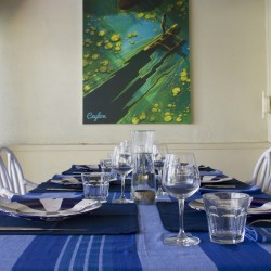 Nilaya Beach Villa Dining in style